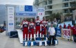 Podium in Greece