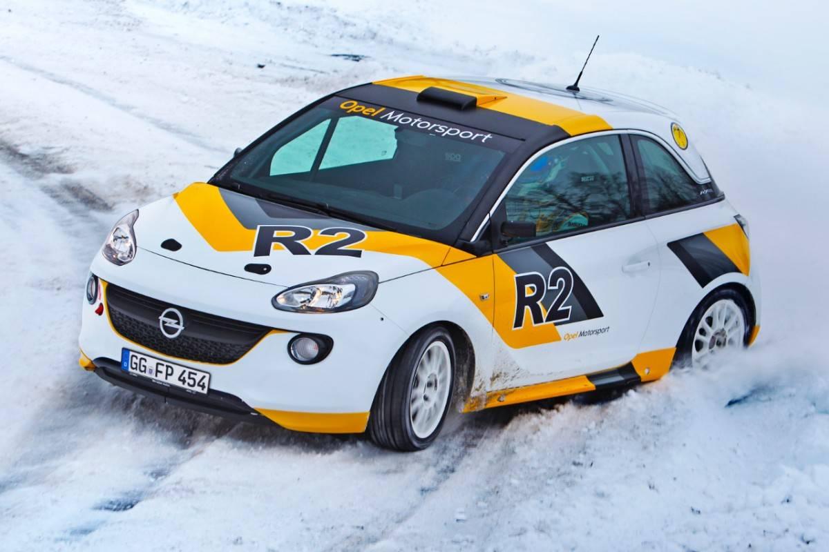 Opel Adam S 2018 >> Photos of Opel Adam R2 rally car - World Rally Blog