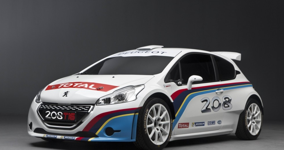 Meeke, Bouffier And Breen Tested Peugeot 208 T16 On The