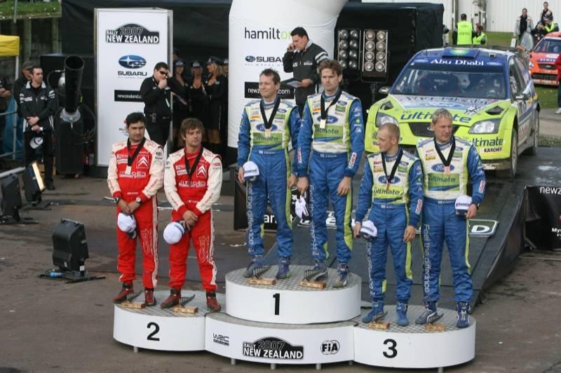MOTORSPORT/WRC NEW ZEALAND 2007