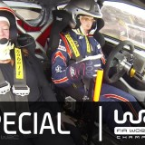 Video: Becs Williams co-driving for Thierry Neuville