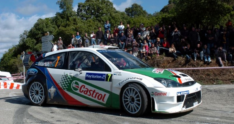 In auction Markko Mrtins winning Focus WRC  World Rally Blog