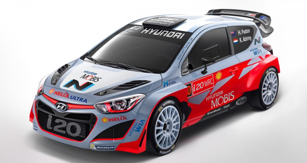 Hyundai Mobis World Rally Team revealed - World Rally Blog