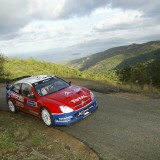 WRC Tour de Corse 2004 - 17/10/2004 - Photo : DPPI / CLAUDE SAULNIER